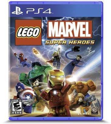 Jeux PS4 LEGO MARVEL | SUPER HEROES PS4