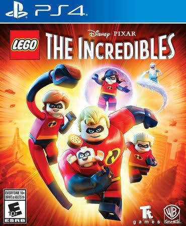 Jeux PS4 LEGO THE INCREDIBLES