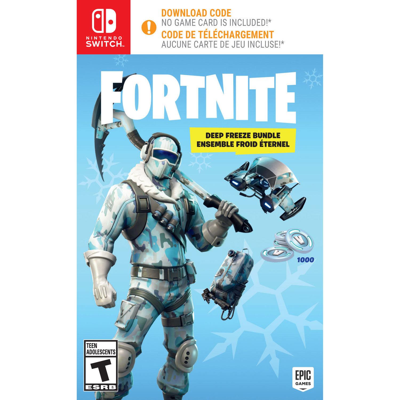 Jeux Switch FORTNITE: DEEP FREEZE BUNDLE