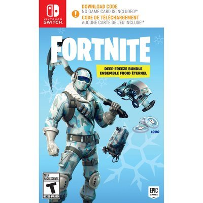 Jeux Switch FORTNITE: DEEP FREEZE BUNDLE