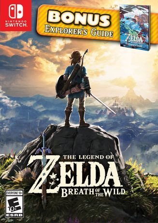 Jeux Switch The Legend of Zelda: Breath of the Wild de Nintendo