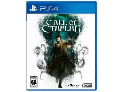 Jeux PS4 CALL OF CTHULU