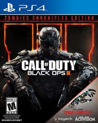 Jeux PS4 CALL OF DUTY: BLACK OPS 3 ZOMBIE EDITION PS4