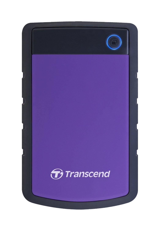 """Disque dur externe portable 2,5"""" StoreJet® 25H3 3To USB 3.0 TS3TSJ25H3P de Transcend"""