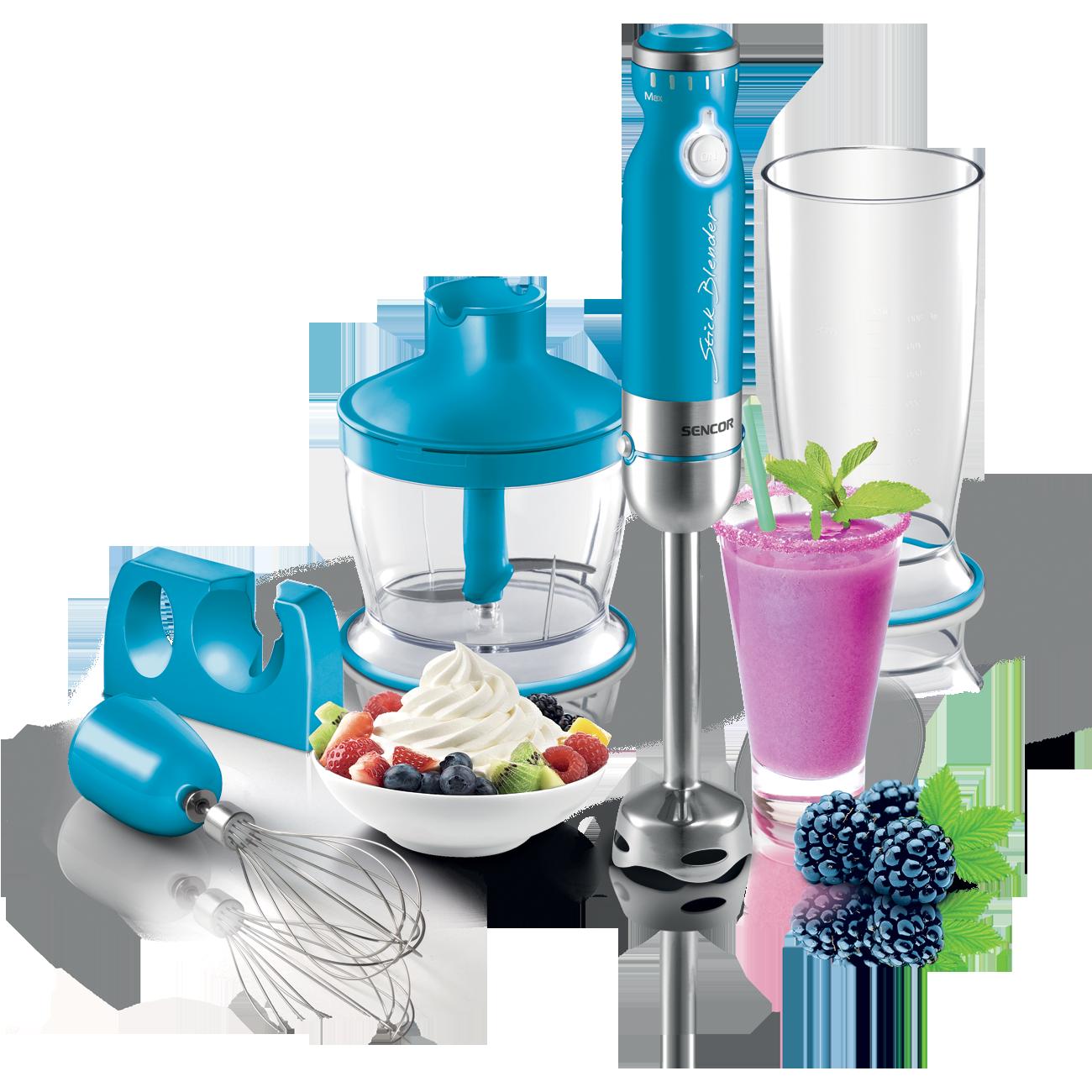 Mixeur plongeant turquoise de Sencor