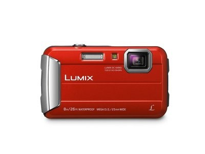 Appareil photo Lumix ROUGE DMCTS30R hydrofuge de Panasonic
