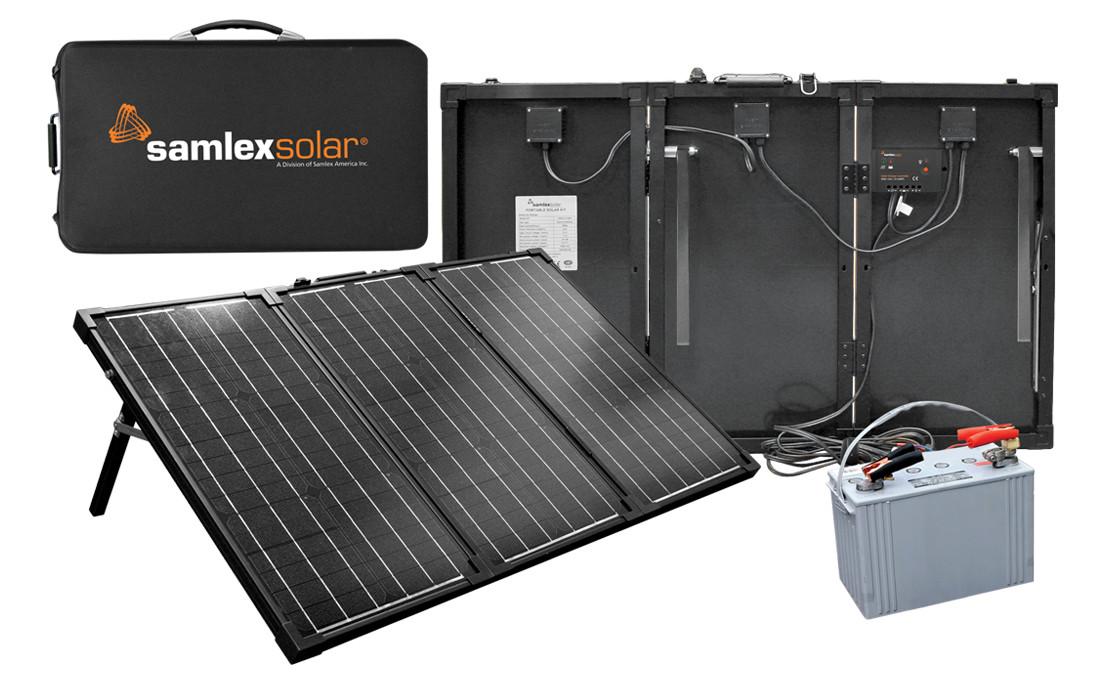 L'ensemble portable MSK-90 de charges 90 Watts de Salmex