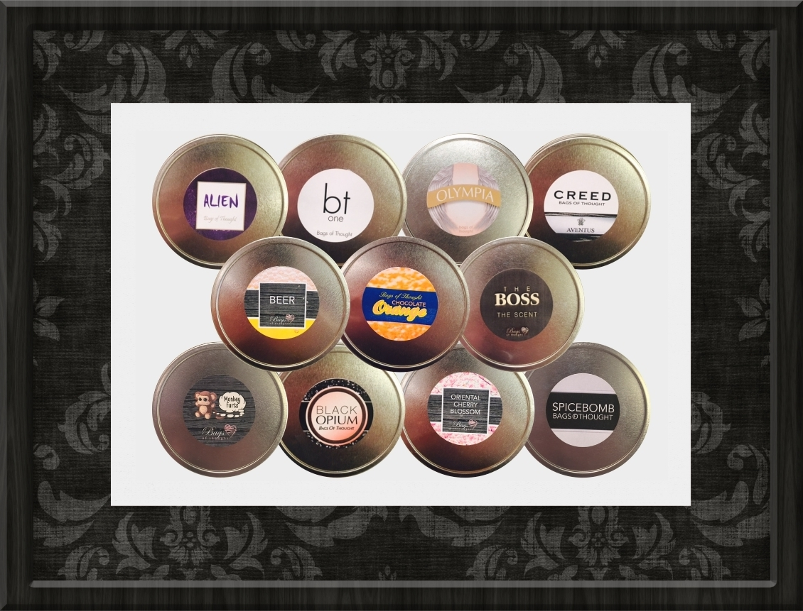 456ebc52eda63 Scented Candle Tin from 'The Perfume Collection'