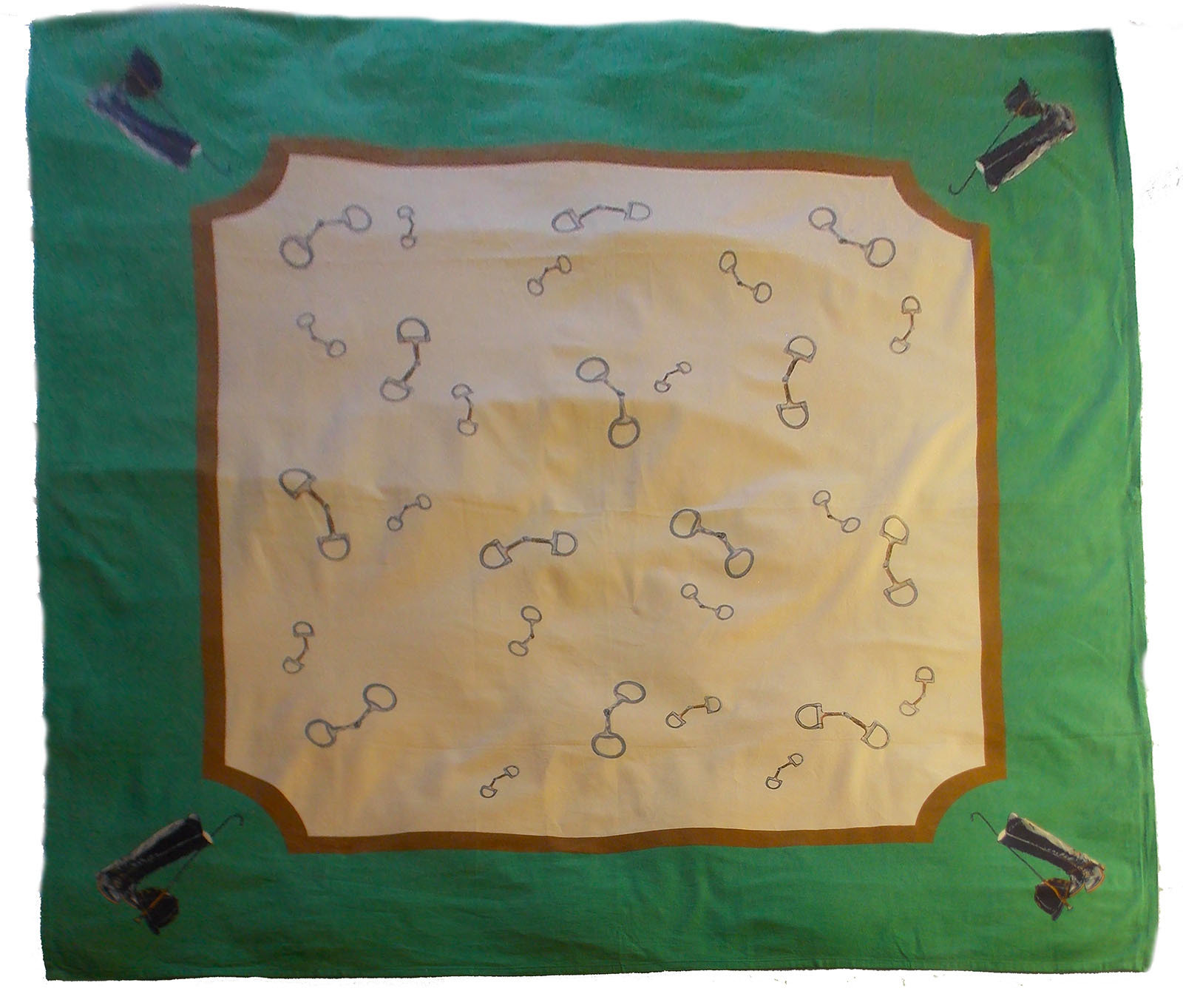 Marble Canyon Equestrian Tablecloth 00008