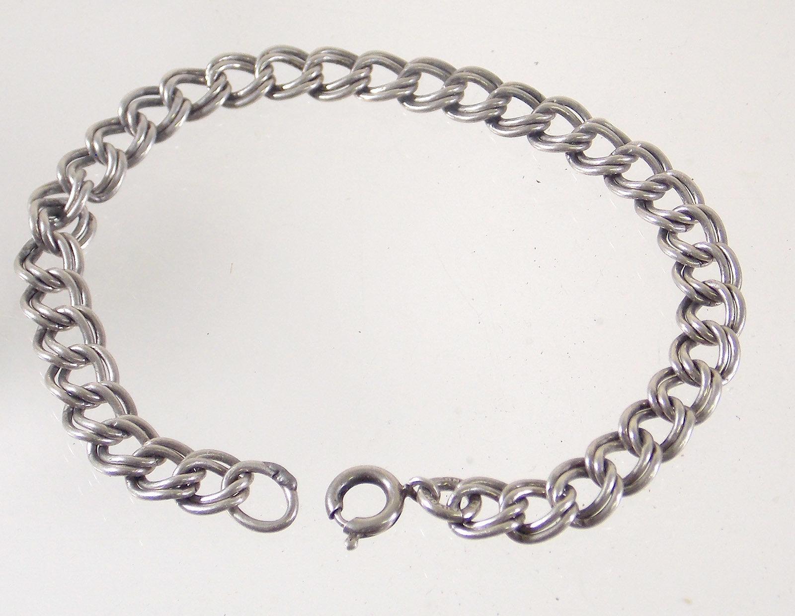 Sterling Silver Charm Bracelet 00022