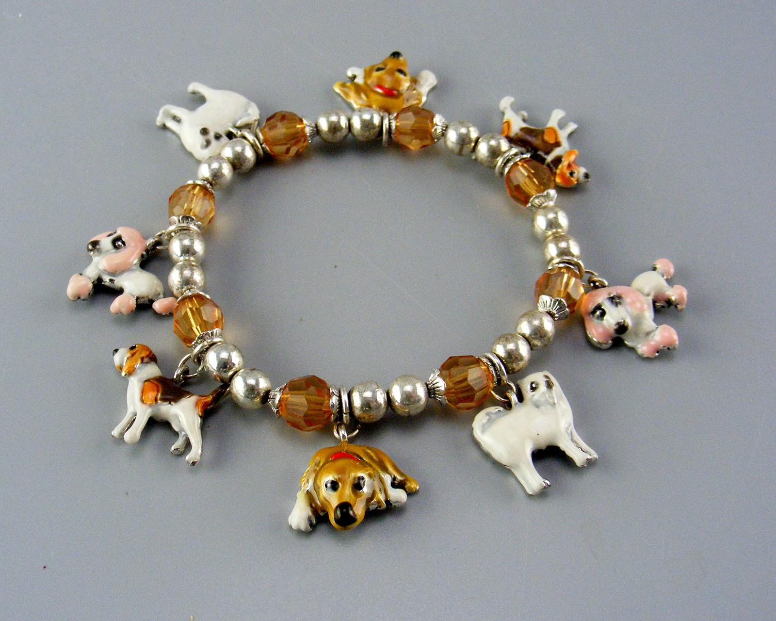 Two Stretch Type Dog Bracelets 00038
