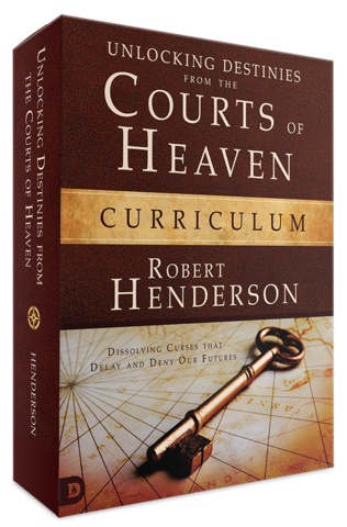 Unlocking Destinies from the Courts Of Heaven Study Set
