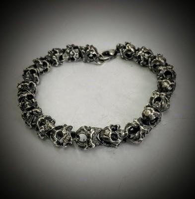 Skull Roundelay Bracelet