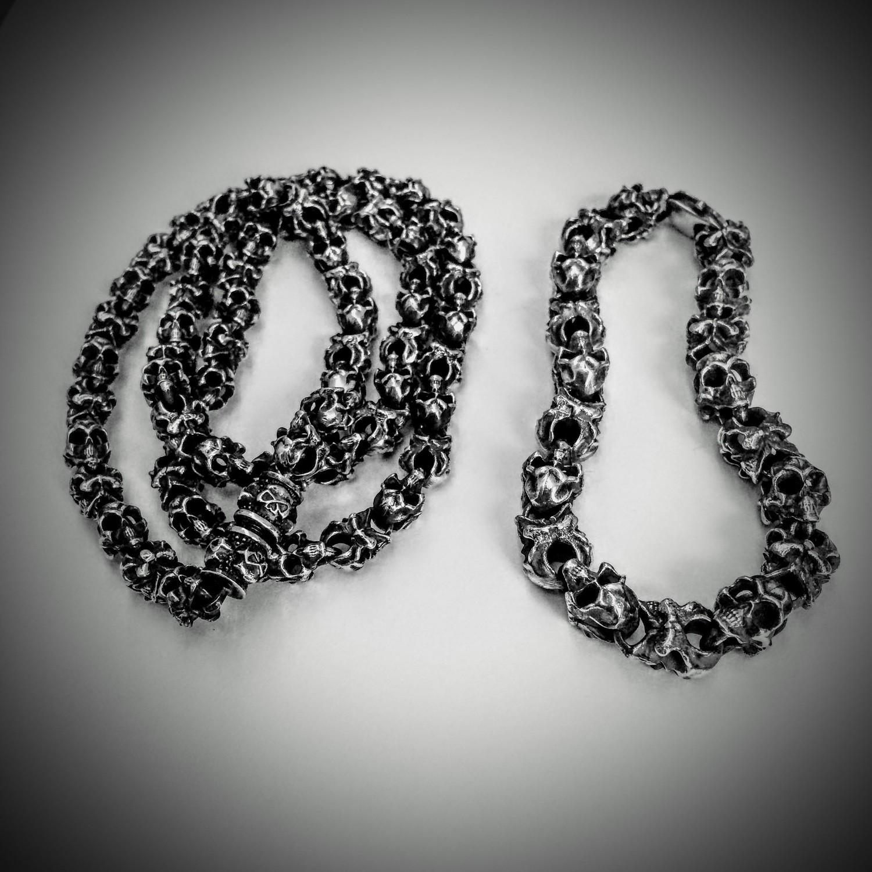 Roundelay Chain & Bracelet Set