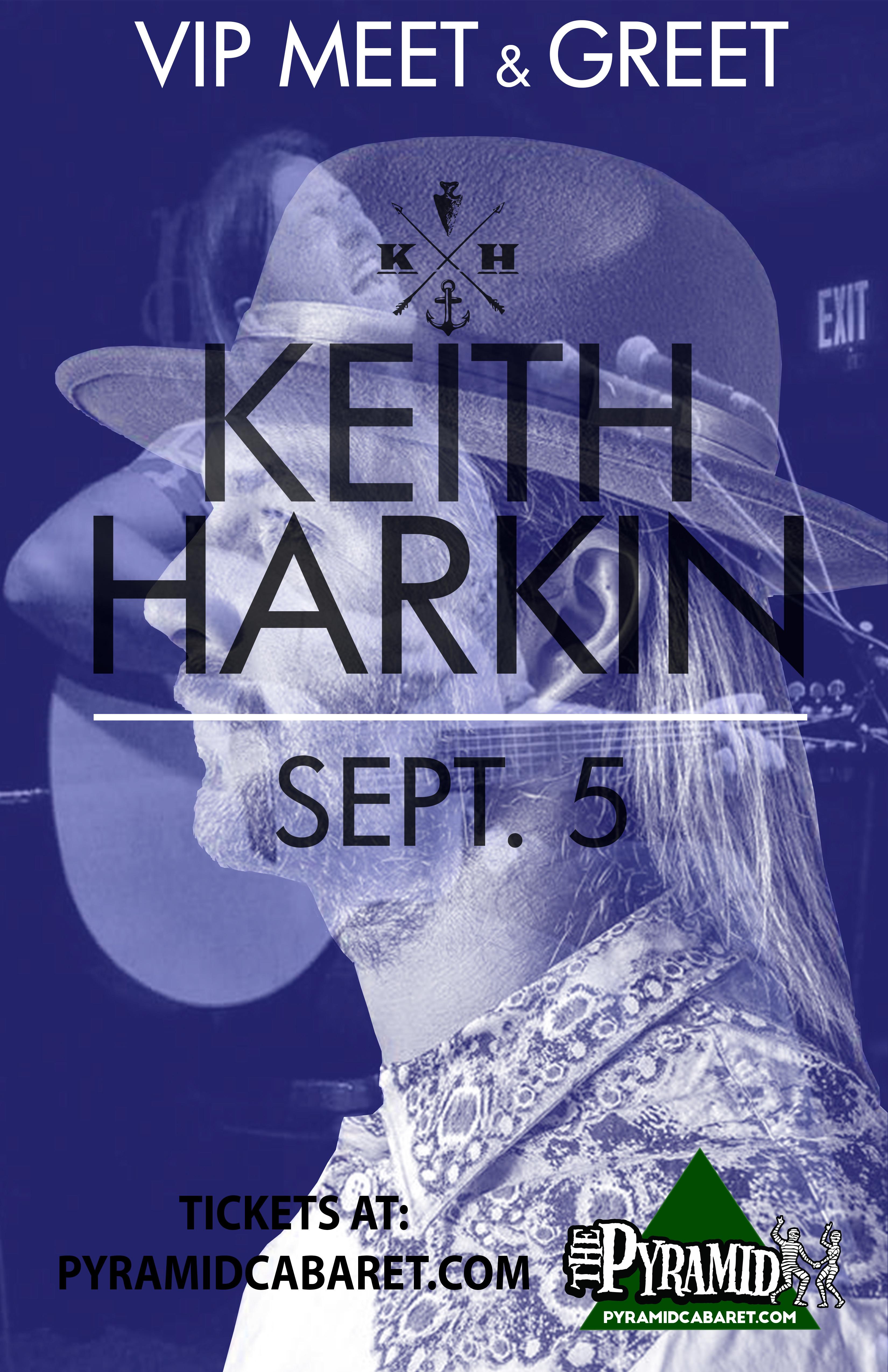 KEITH HARKIN - VIP - Meet & Greet 00187