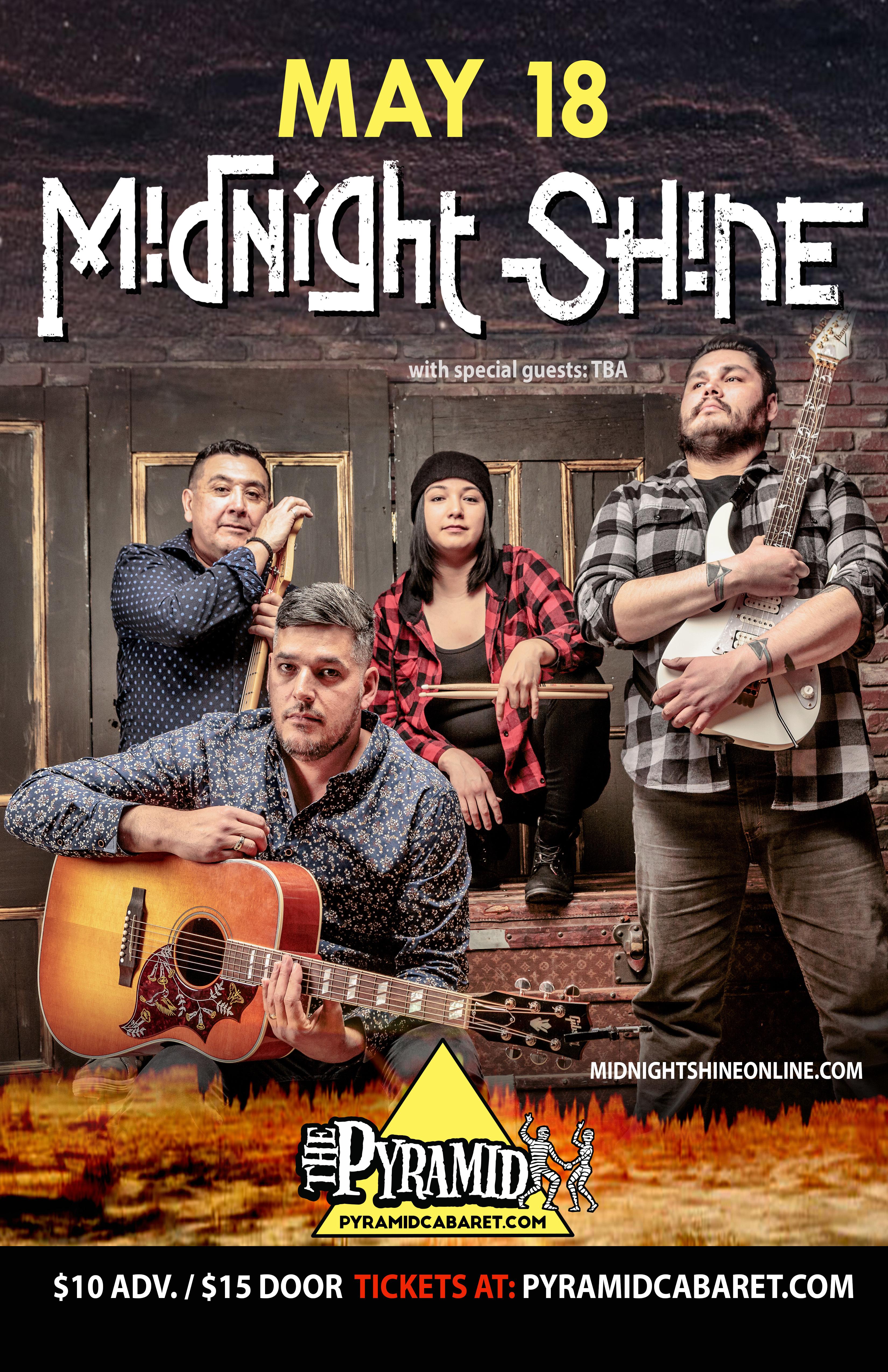 MIDNIGHT SHINE - MAY 18 - The Pyramid 00201