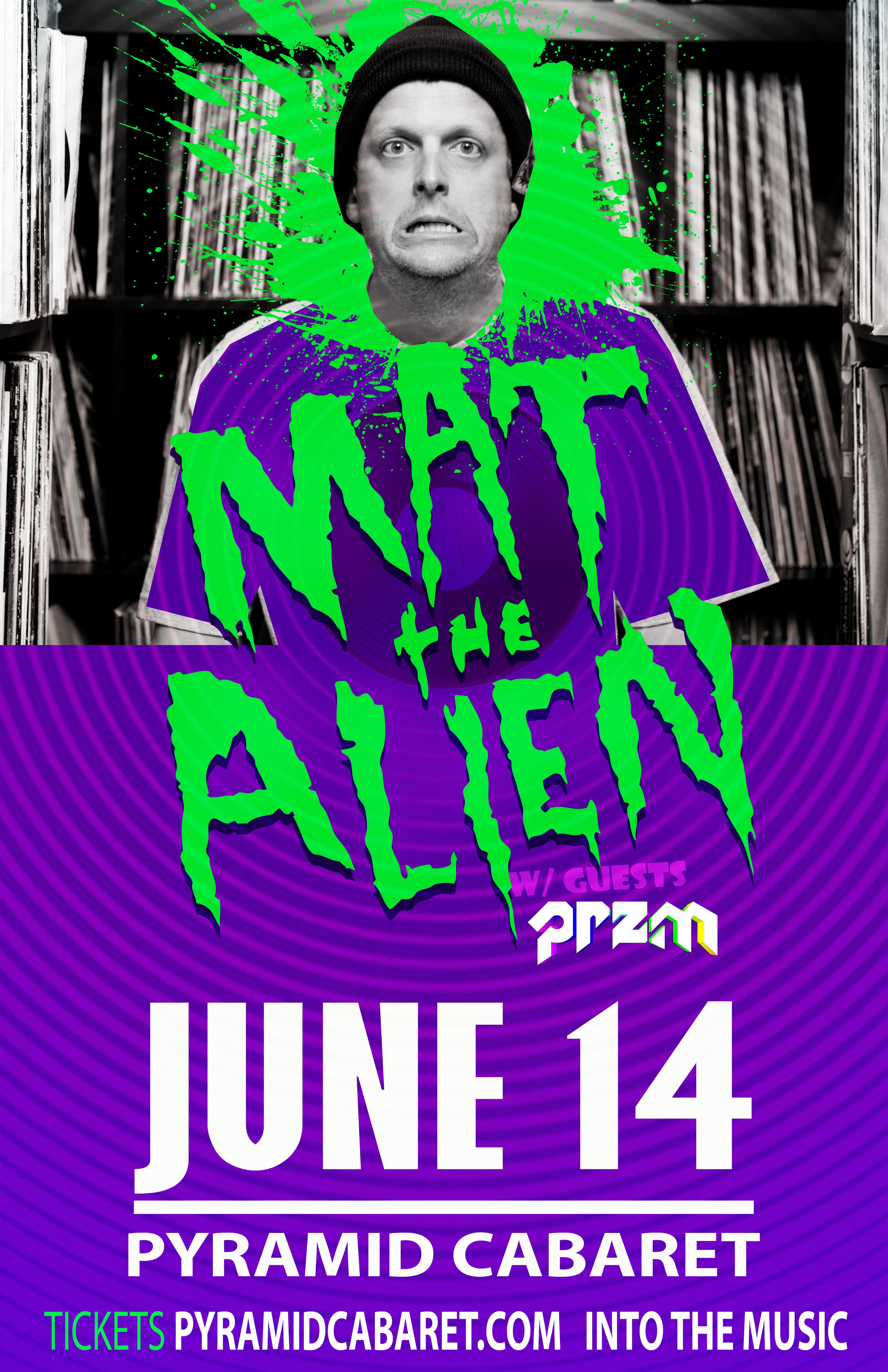 MAT THE ALIEN - JUNE 14 - The PYRAMID 00191