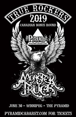 MONSTER TRUCK - June 30 - The Pyramid