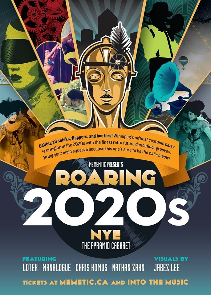 NYE: ROARING 2020s - DEC. 31 - The Pyramid