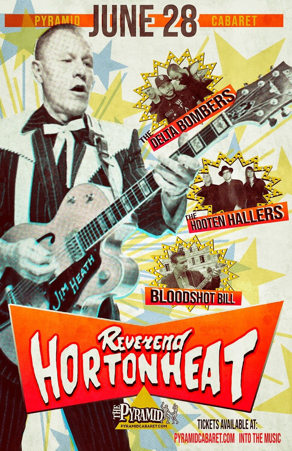 REVEREND HORTON HEAT - JUNE 28 - The Pyramid