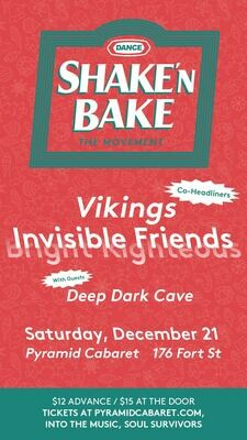 Invisible Friends - Vikings - Deep Dark Cave - DEC. 21