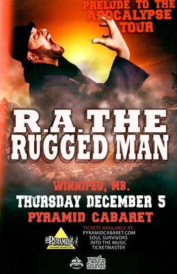 R.A. THE RUGGED MAN - DEC. 5 - The Pyramid