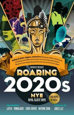 NYE: ROARING 2020s - DEC. 31 - Royal Albert Arms