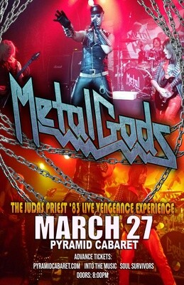 METAL GODS - Judas Priest Tribute - MAR. 27