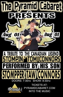STOMPIN' TOM Tribute ft. Stompper Taw Connors - AUG. 1