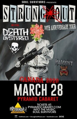 STRUNG OUT w/ Death By Stereo - MARCH 28 - Pyramid