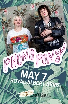 PHONO PONY - MAY 7 - Royal Albert Arms