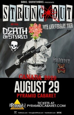 STRUNG OUT w/ Death By Stereo - AUGUST 29 - Pyramid