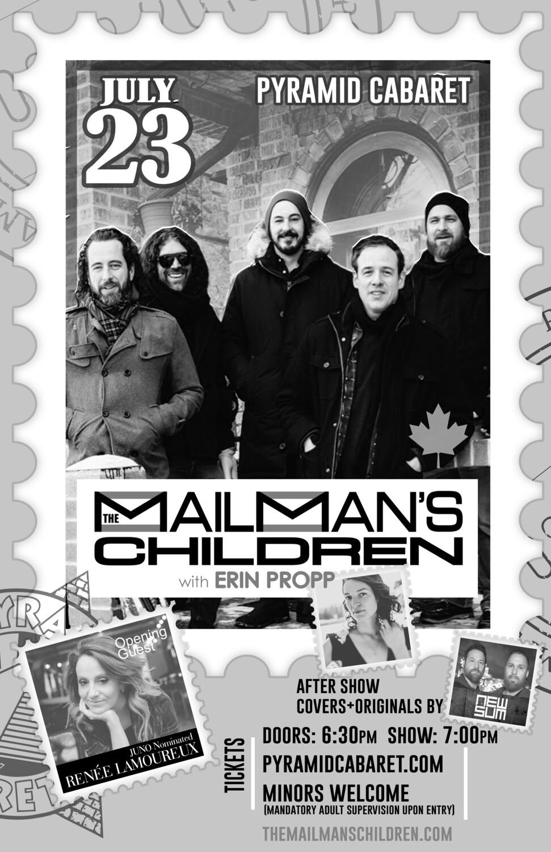 The MAILMAN'S CHILDREN - JULY 23 - minor - Pyramid