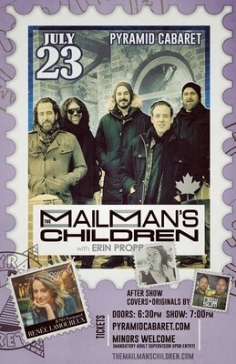 The MAILMAN'S CHILDREN - JULY 23 - Pyramid