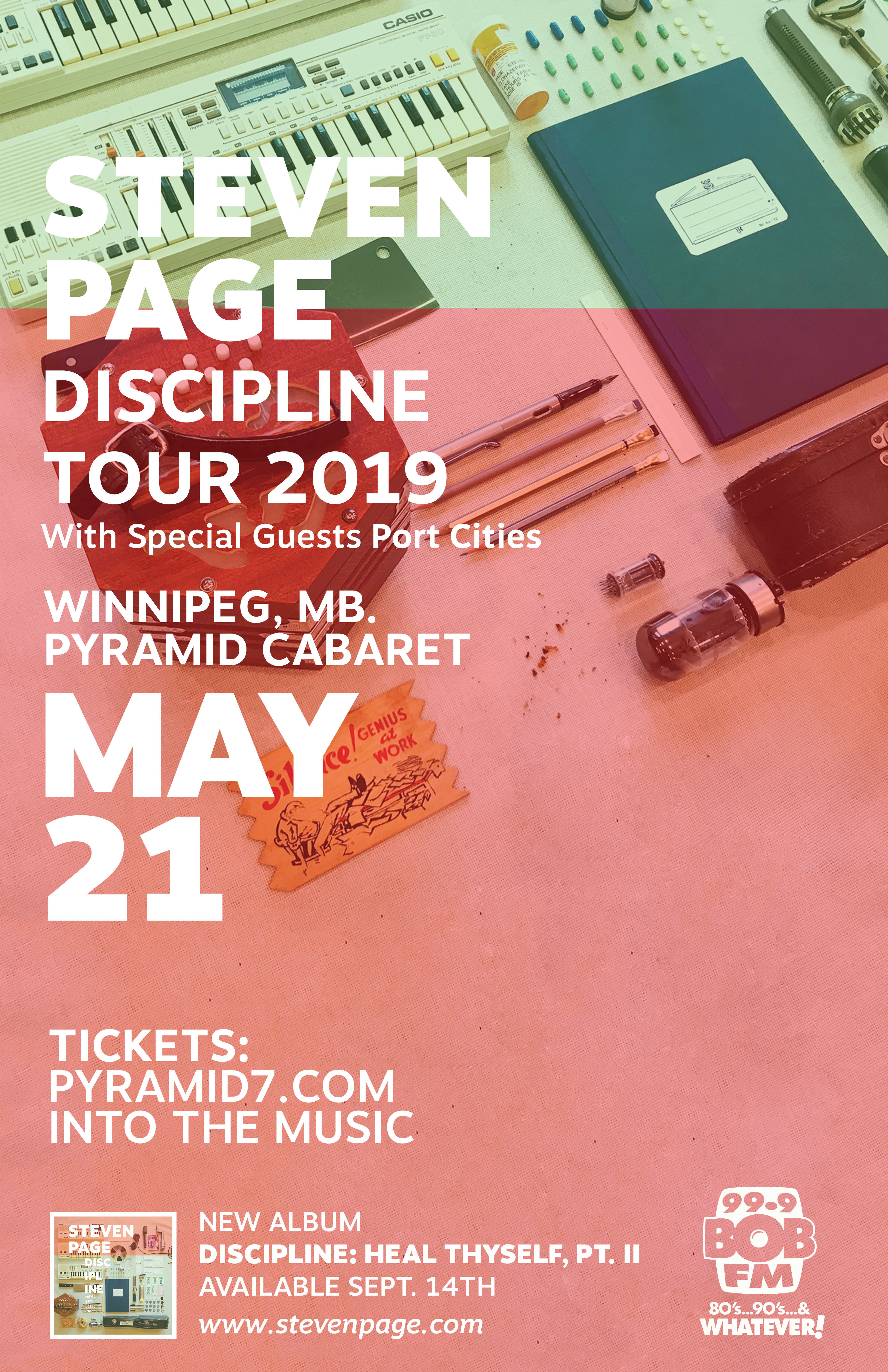 STEVEN PAGE - MAY 21 - 2019 - The Pyramid 00149