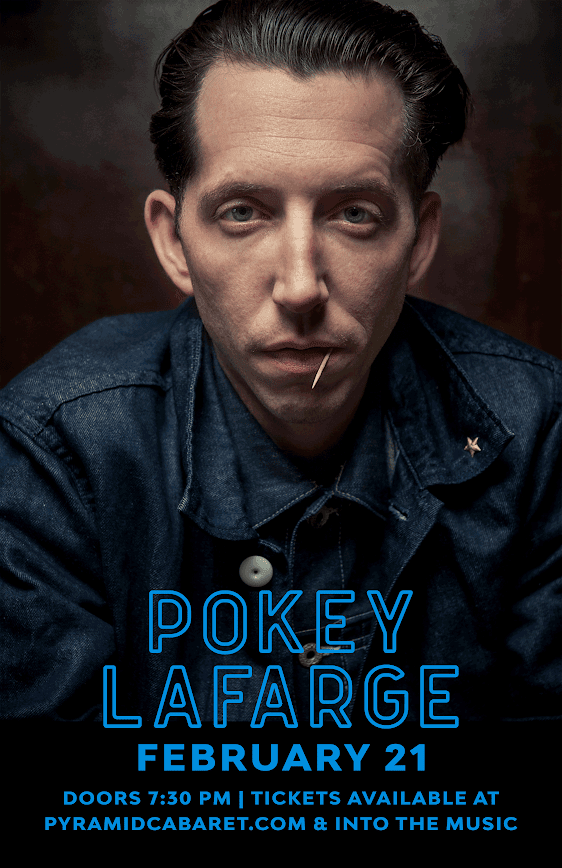 POKEY LAFARGE - FEB. 21 - The PYRAMID 00171
