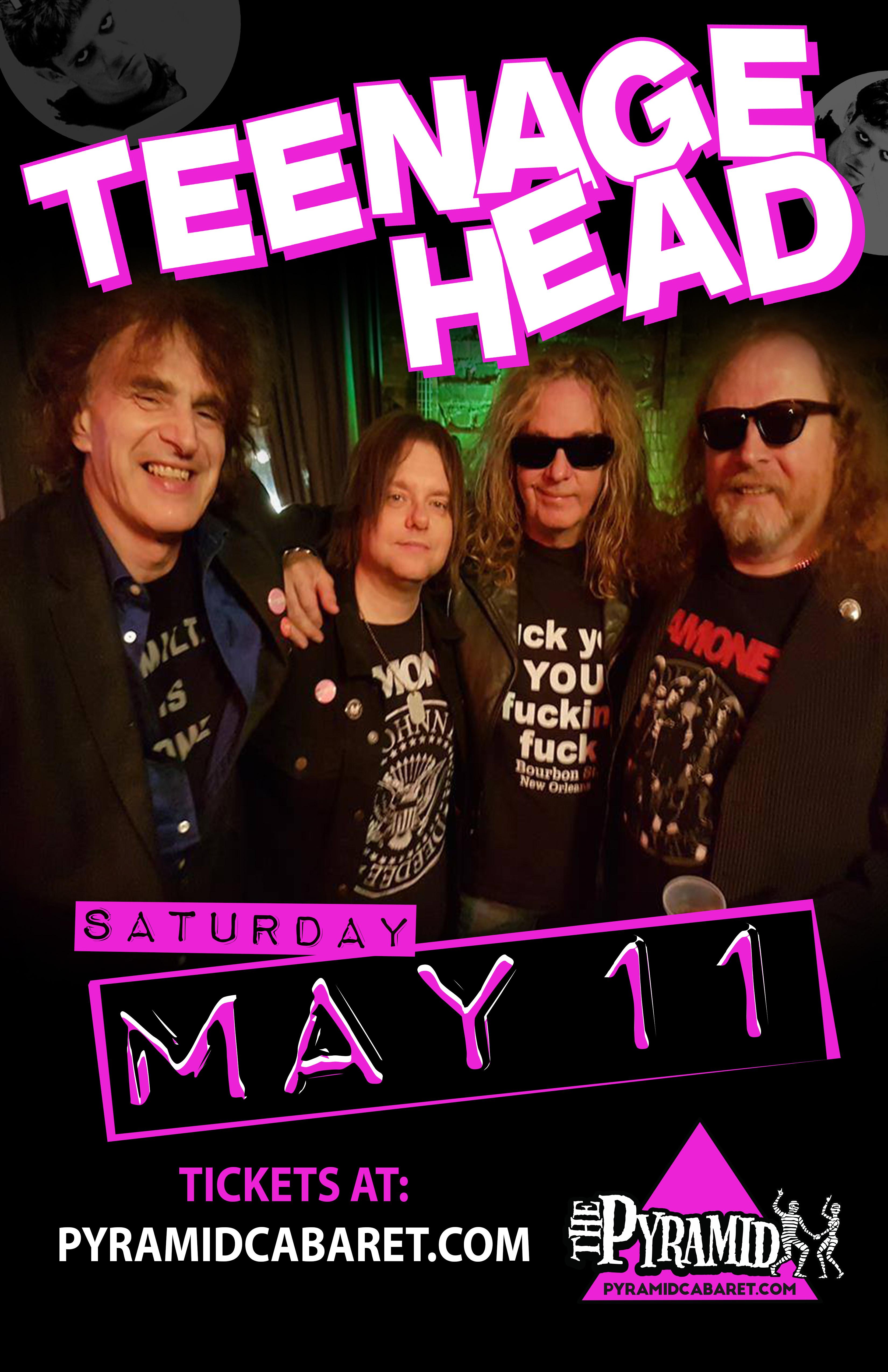 TEENAGE HEAD - MAY 11 - The PYRAMID 00178