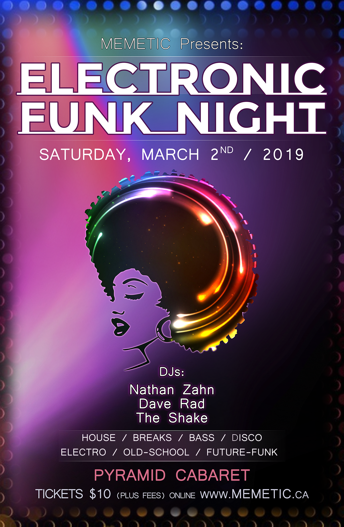 Electronic FUNK Night - MAR. 2 - The PYRAMID 00176