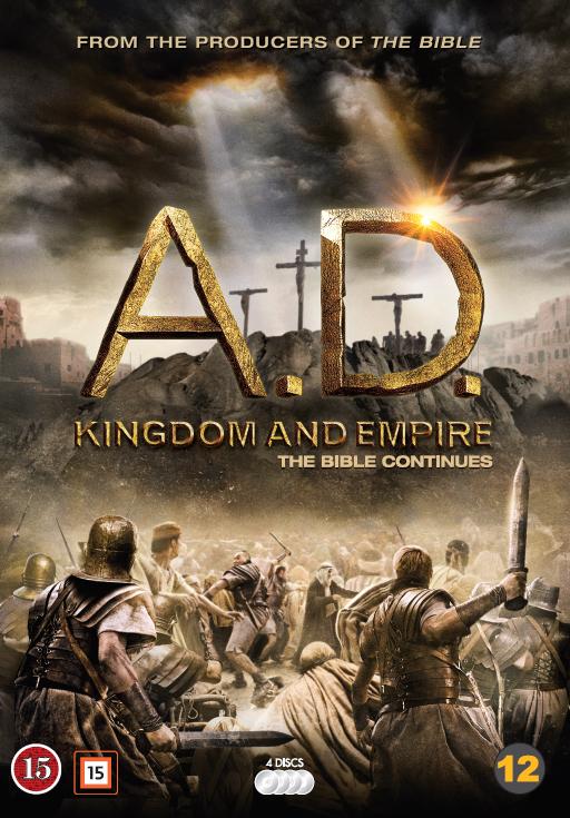 DVD: A. D. Kingdom and Empire. The Bibel Continues (4 DVD) 7340112725907