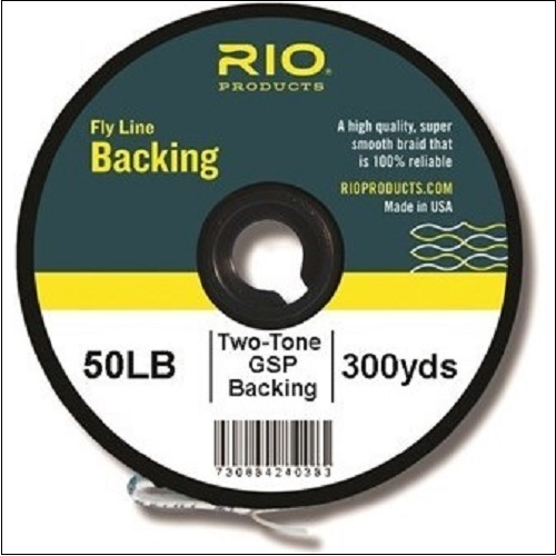 RIO Fly Line Backing - Two Tone Gel Spun