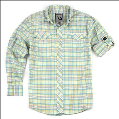 MOJO Back Country Big Plaid Technical Shirt - Long Sleeve