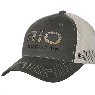 RIO Brown Trout Logo Trucker Cap