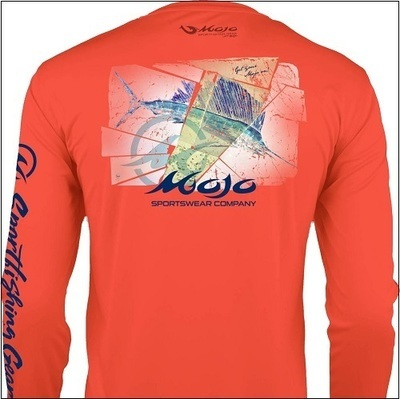 MOJO Shattered Sailfish Wireman - Tangerine/Butter