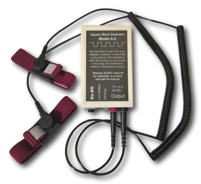 MODEL A-6 ZAPPER WITH CONDUCTIVE WRISTBANDS