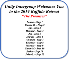2019 Buffalo Spring Retreat