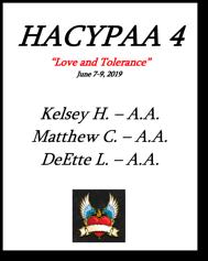 HACYPAA 4 - 2019