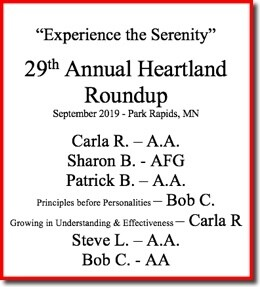 29th Heartland Roundup - 2019