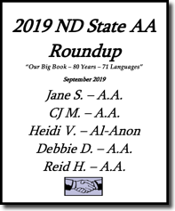 North Dakota State AA Roundup - 2019