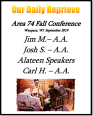 Area 74 Fall Conference - 2019