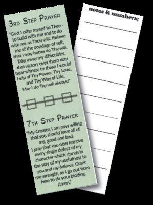 Prayers Bookmark